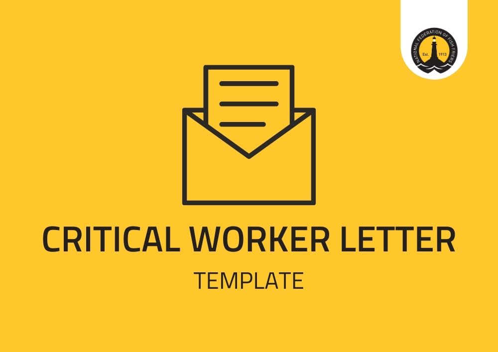 Critical Worker Letter - Template