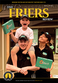 OUT NOW - ISSUE 5 OF THE FISH FRIERS REVIEW