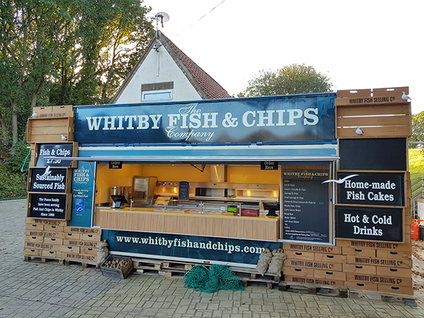 FUSCO'S TAKES WHITBY FISH AND CHIPS ON TOUR