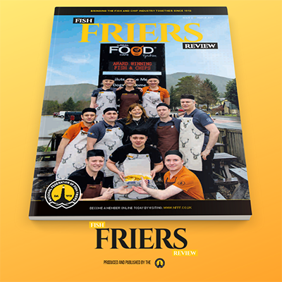 Out Now - Issue 2 of the Fish Friers Review