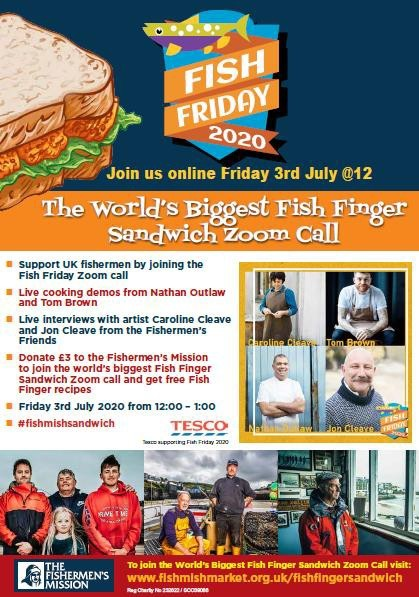 Energy Builds for the World's Biggest Fish Finger Sandwich Zoom Call