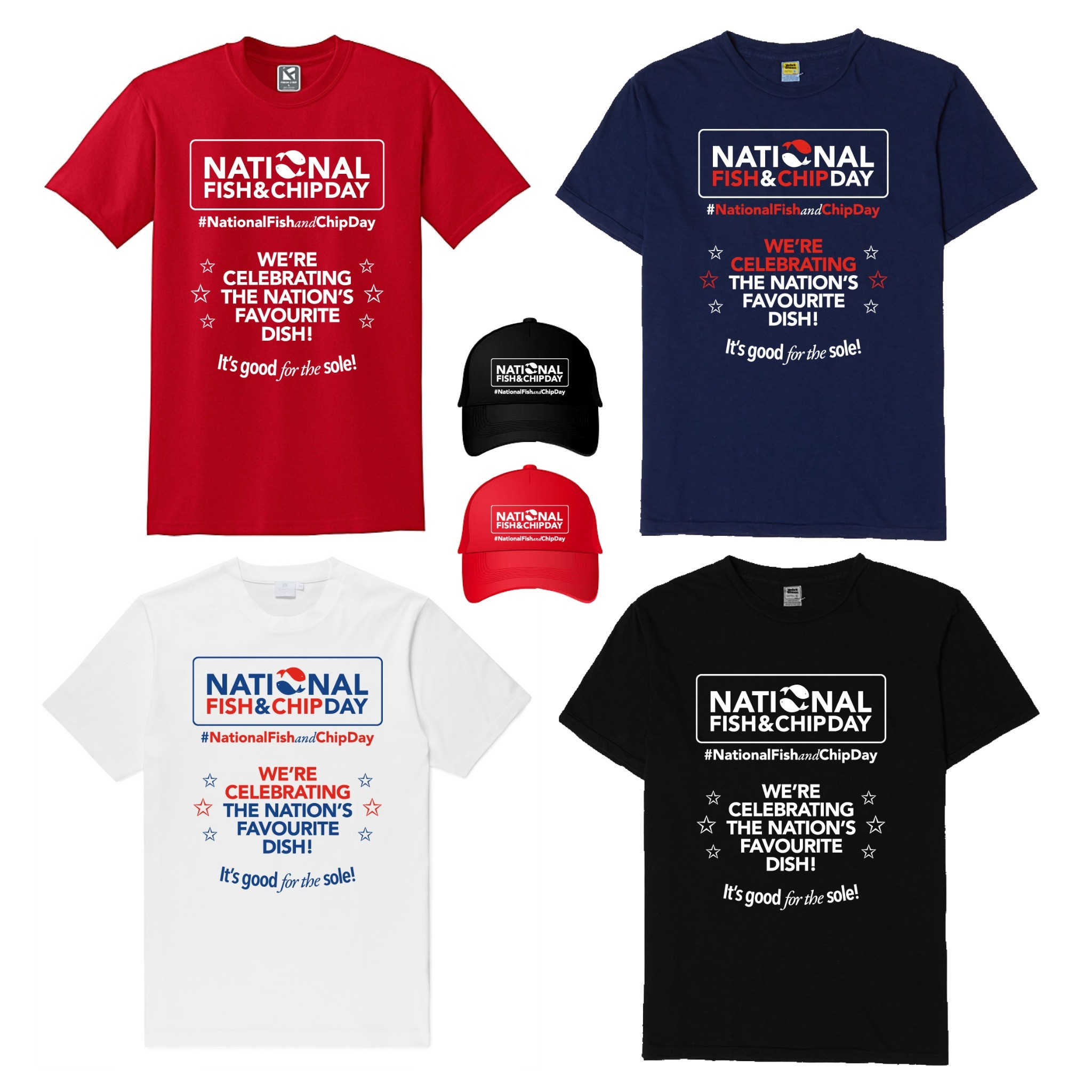 Don't miss out on our Early Bird Offer on National Fish and Chip Day Merch!