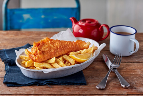Fish and chips and a cup of tea as brits crave iconic national staples during era of home isolation
