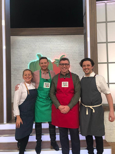 The Fishermen's Mission in the new Ready, Steady Cook studios!