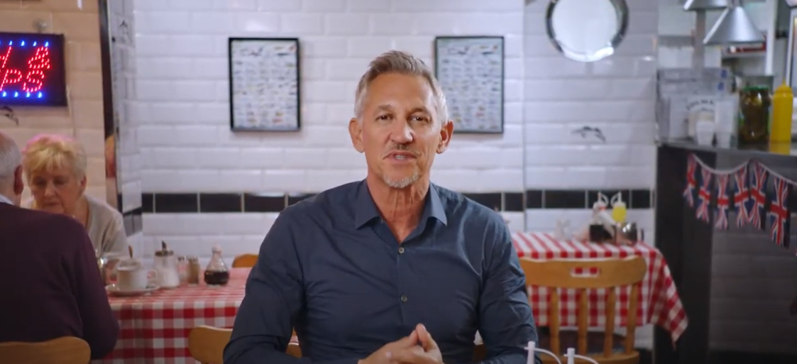 Gary Lineker, Jo Brand and Yasmin Kadi shine a light on the little-known origins of fish and chips to highlight refugees' contributions to the UK.