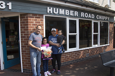 Humber Road Chippy scoops Klucky's £250 prize for February