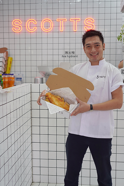 North Yorkshire chippy frying high in China with opening of Scotts Chengdu
