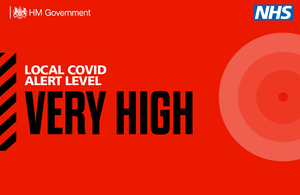 Local COVID alert level update for Nottinghamshire