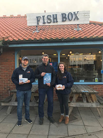 Fish Box pledges its support to the Marine Conservation Society
