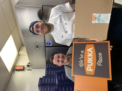 Nation's favourite chippy teams up with Pukka to offer free pies!