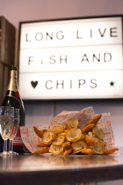 Fancy a Fish & Chip Bouquet for Valentine's Day?