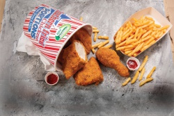 Eye-catching new look for Southern Fried Chicken Portions