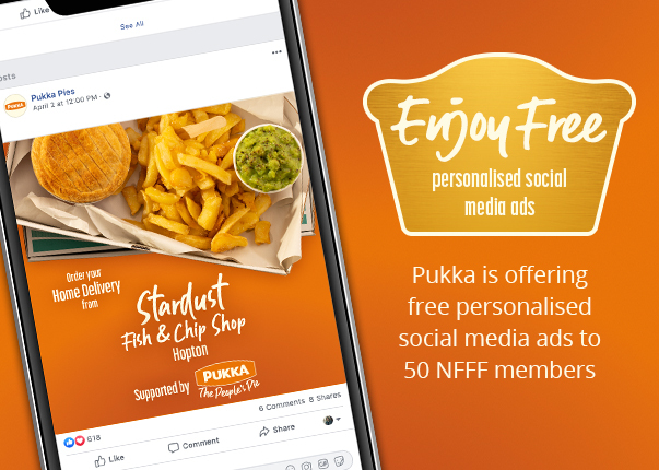 Enjoy FREE personalised social media ads from Pukka