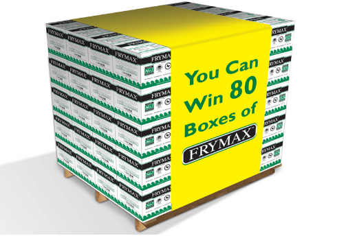 Your Chance to Win a FREE Pallet of Frymax 12.5kg Worth Over £1,000!