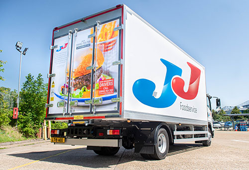 JJ Foodservice Introduces Next-Day HOME Delivery Service