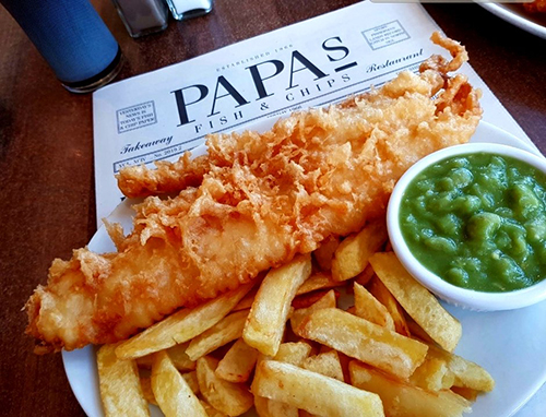 Papa's Fish & Chips in your home