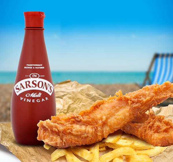 Sarson's Calls on Chippies to Take Pride in Their Condiments and Feel the Benefits of Brand Power