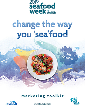 Only one month to go until Seafood Week: 4-11 October 2019