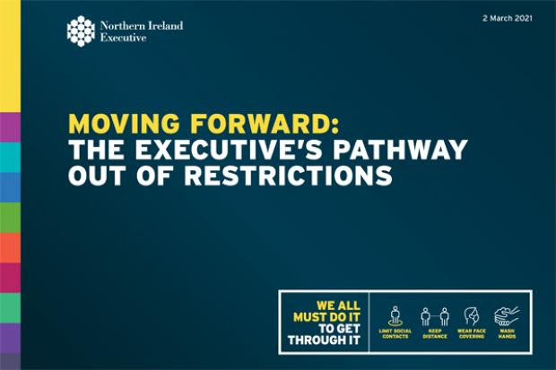 Executive sets out plan to ease out of restrictions