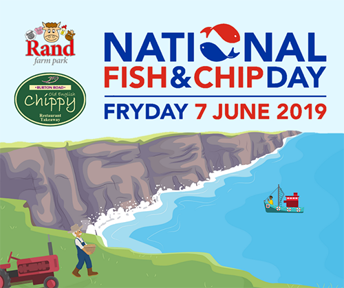 Two Lincolnshire businesses join together to celebrate National Fish and Chip Day!