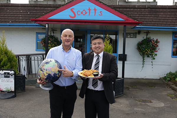 "From Bilbrough to Chengdu! Yorkshire Chippy Boss Unwraps News Of A ""New Cod"" On The Block In China"